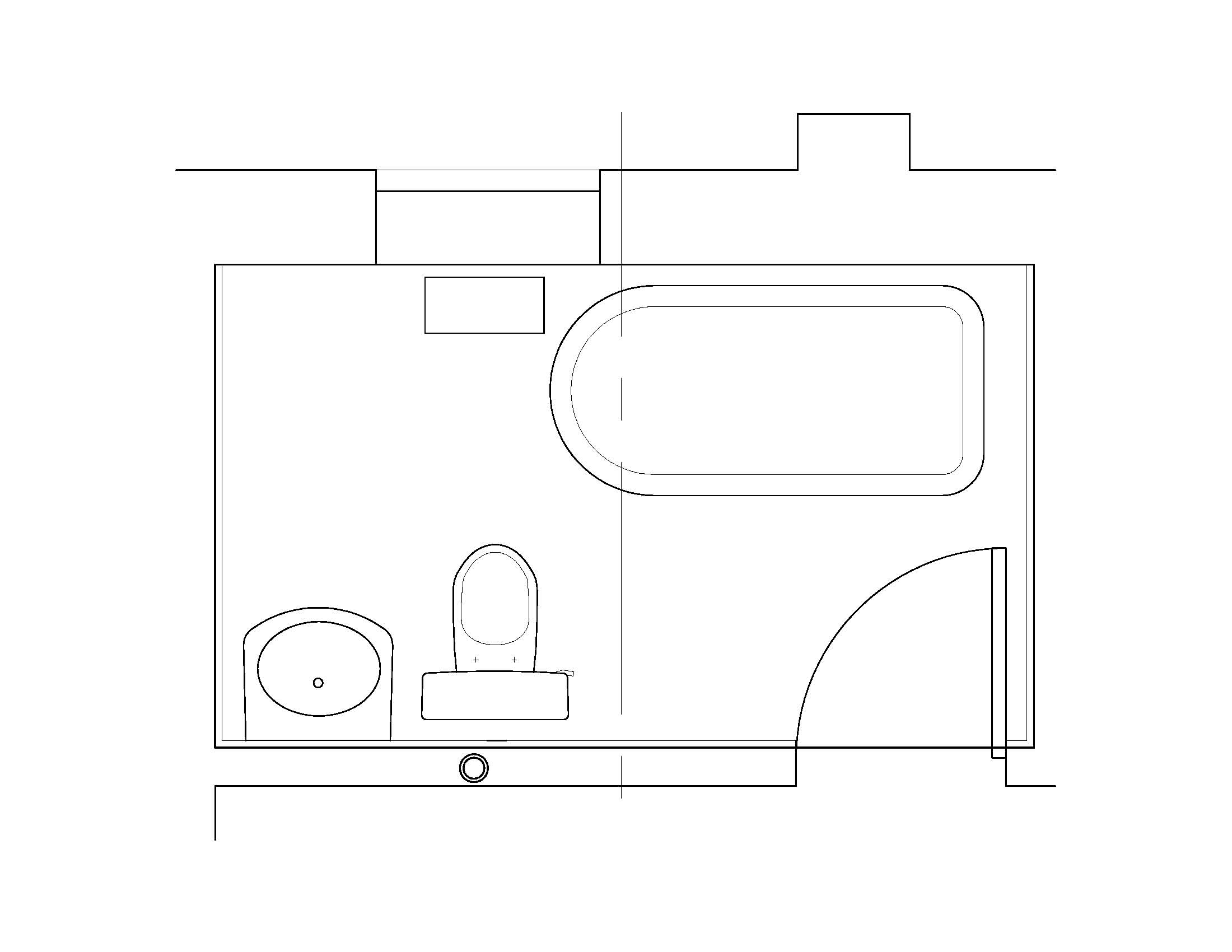 Bathroom meltdown part ii madison square home for Bathroom layout design