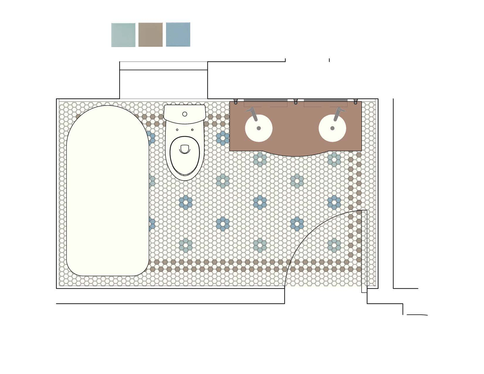 April 2012 bathroom floors Bathroom floor plans