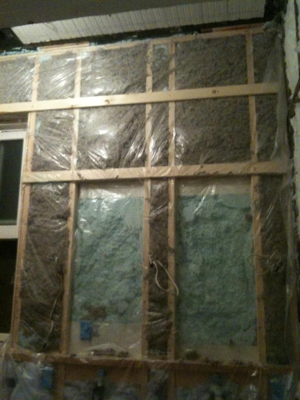 Insulation vapor barrier madison square home - Insulation r value for exterior walls ...
