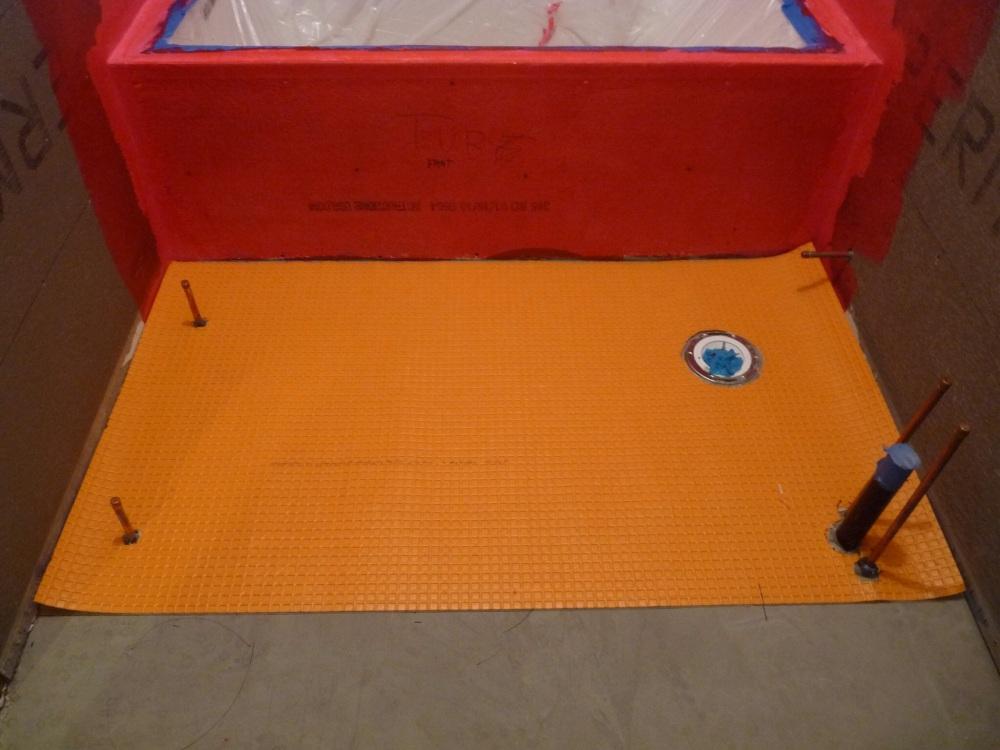 Redgard Waterproofing, LayerOne (3/4)