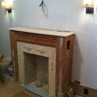 Fireplace Mantel - Demo!