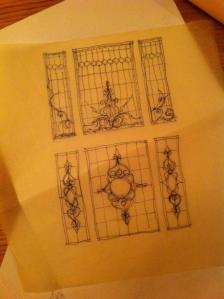 FEB STAINED GLASS START