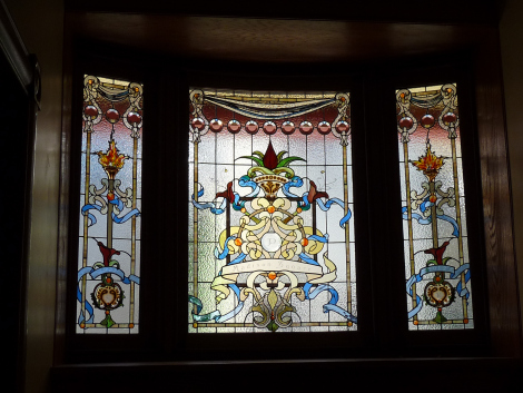 july stained glass
