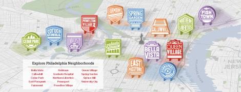 map neighborhood philadelphia
